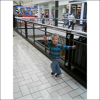 Thing 2 In The Mall