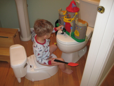 Potty Training - Whatever It Takes